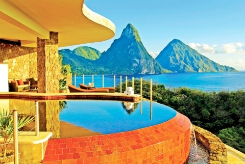 jade mountain honeymoon hotel