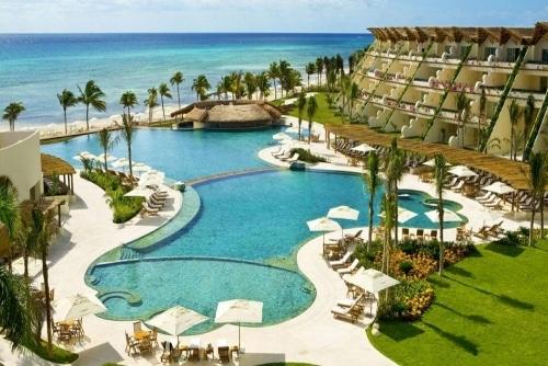 Grand velas riviera maya piscine
