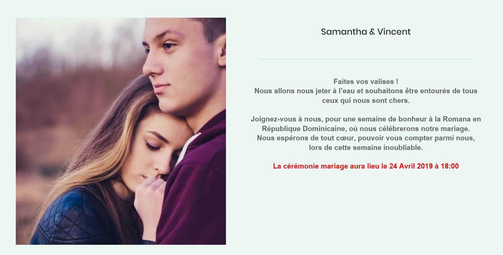 Site Internet Mariage Dans Le Sud Gratuit Mariage Dans Le