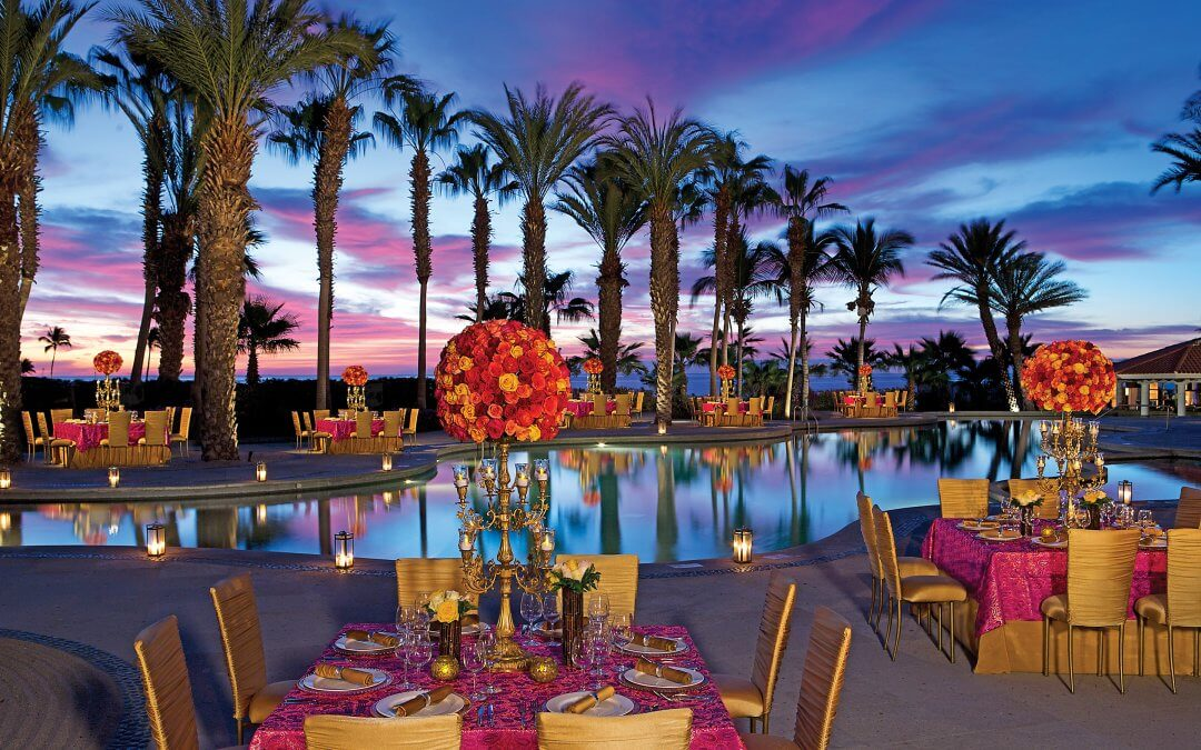 dreams los cabos private diner pool