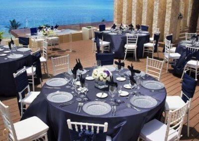 royalton cancun souper mariage vue mer