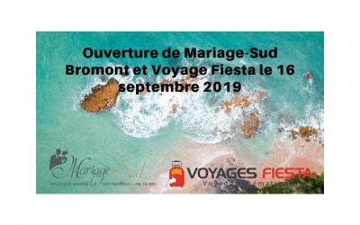 Mariage Sud et Voyage Fiesta Bromont