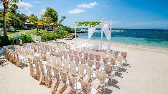 mariage sur la plage en jamaique