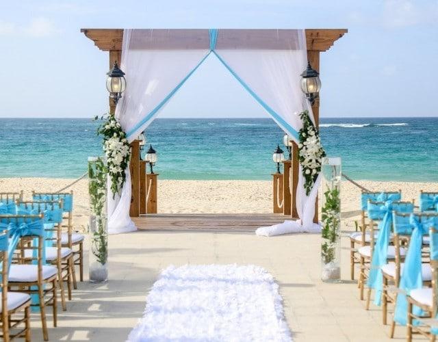 Punta cana mariage plage