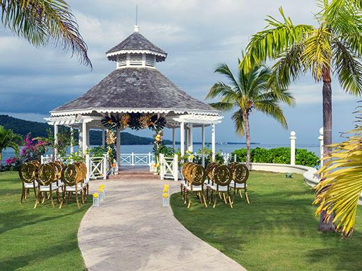 gazebo mariage en jamaique